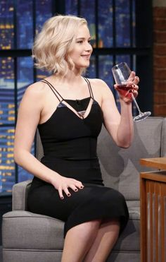 Jennifer Lawrence, Seth Meyers show