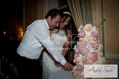 SJ & Ben - Lovely roses on the cake Jewish Wedding Ceremony, Amazing Wedding Cakes, Chuppah, Grand Hotel, Groom, Roses, Bride, Celebrities, Photography