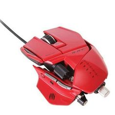 Rat7 PC Mac Gaming Mouse Red