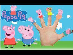 Finger family song peppa pig | Finger family nursery rhymes for children...
