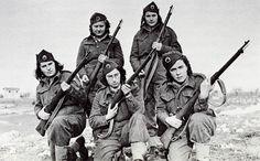 Yugoslav female partisans WWII