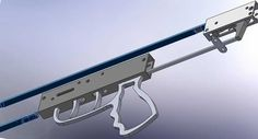 Under Mech Double Shaft Speargun Mechanism | Neptonic Systems