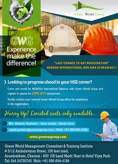 Green World Group Is The Finest Educational Safety Training Course