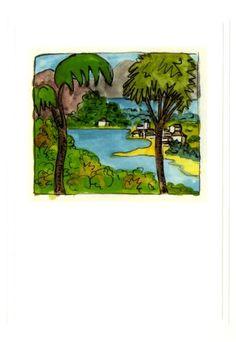 Tessiner Seelandschaft von Hermann Hesse