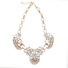 #SALE Luxe Deco Crystal Necklace Shop the #SALE at #TJDesigns
