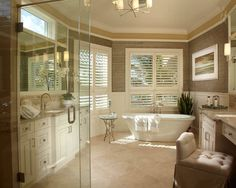 Traditional Bathroom | Free Style Interiors | Bonita Springs Florida Interior Designers