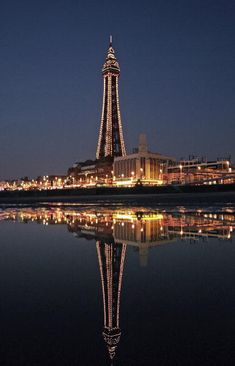 Tom so wants to do a trip here haha Blackpool, Lancashire, North West England. Places Around The World, The Places Youll Go, Places To See, Blackpool Uk, Blackpool Lights, Uk Tourist Attractions, British Holidays, Cities, Las Vegas