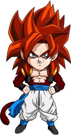 'anime dragon ball Songoku son goku dragonball Z GT by fclothes Dragon Ball Gt, Dragon Z, Gogeta Ss4, Goten Y Trunks, Manga Dragon, Ball Drawing, Chibi Characters, Anime Chibi, Manga Anime