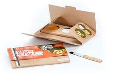 Kit de maquillage 3 couleurs - Zèbre et tigre - Namaki - Enfant/Se maquiller, se déguiser - Doux-Good - Cosmétiques bio et naturels