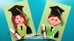 fofucha graduacion goma eva niño niña moldes plantillas