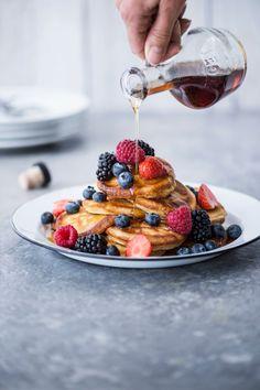 Pancakes eli amerikkalaiset pannukakut | K-ruoka