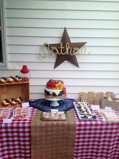 "Photo 1 of 36: Western/Cowboy / Birthday ""Nathan's 2nd Birthday"""