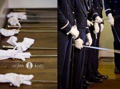 Military wedding  |  Air Force wedding  |  Sword arch  |  Aislinn Kate  |  Wedding photos  I  Pensacola Wedding Photographer