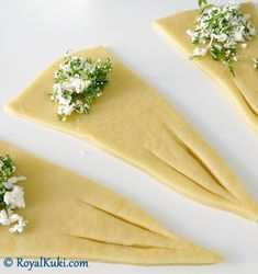 Peynirli Kolay Kruvasan