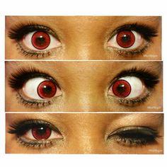 ♡ Misumipyon : Bbybun の Chronicles ♡ : ♡ PinkyParadise EOS Venus Eye Red Circle Lens Review ♡