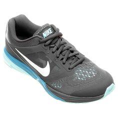 a7f503beb4 Tênis Nike Tri Fusion Run MSL Feminino - Cinza e Azul Claro - Compre Agora