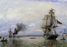Johan Barthold Jongkind (3 June 1819 – 9 February 1891) was a Dutch painter and printmaker. He painted marine landscapes in a free manner and is regarded as a forerunner of Impressionism.