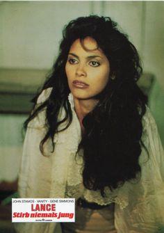 Shootin' love in your direction. Vanity Singer, Vanity 6, Sharon Stone, Beautiful Black Women, Beautiful People, Simply Beautiful, Afro, Denise Matthews, John Stamos