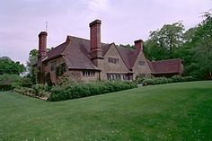 Munstead Wood, Godalming in Surrey, built for Lutyen's great friend and patron Gertrude Jekyll