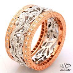 R832-D,D (RW) #beverlyk #wedding #weddingring #weddingband #stack #stackable #stackrings #stackingrings #stackablerings