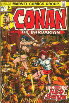 Cover for Conan the Barbarian (Marvel, 1970 series) #24