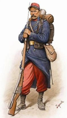 WWI French soldier