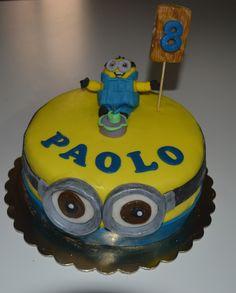 Torta Minions per il compleanno di Paolo