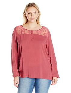 Junarose Women's Plus Size Adele Long Sleeve Blouse, Maro... https://www.amazon.com/dp/B01IDVLAMO/ref=cm_sw_r_pi_dp_x_74LEybS3SPCT8