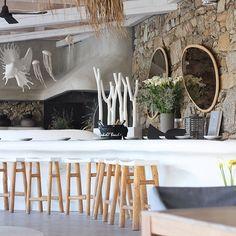 Jackie O' Beach Bar, Mykonos, Greece.