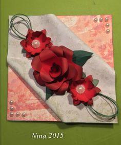 Paper Crafts, Phone, Telephone, Tissue Paper Crafts, Paper Craft Work, Papercraft, Mobile Phones, Paper Art And Craft, Paper Crafting