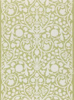 More Than Wallpaper Designs Digitized. This French wallpaper was block printed by Paul Balin between 1880 and It features imitation needlework, foliage and Tudor rose motifs. French Wallpaper, Victorian Wallpaper, White Wallpaper, Perfect Wallpaper, Watercolor Wallpaper, Print Wallpaper, Custom Wallpaper, Designer Wallpaper, Wallpaper Designs