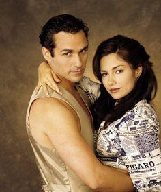 "Brenda (Vanessa Marcil) fell for gangster Sonny Corinthos (Maurice Benard) on ABC Daytime's ""General Hospital"" #GH #GeneralHospital"
