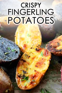 Make golden-brown, crispy Roasted Fingerling Potatoes with just 10 minutes of prep! This potato recipe only calls for salt, pepper, oil, and potatoes. This easy potato recipe bakes produces crispy potatoes with a buttery, creamy interior and a hint of nuttiness. They're a great side dish for holiday roasts and budget-friendly dinners!