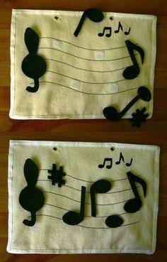 quiet book music - Pesquisa Google