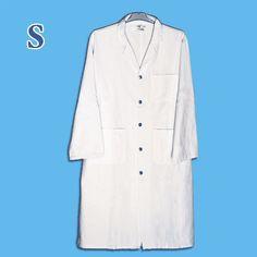 Les blouses blanche de laboratoire YouLab sont disponibles en 4 tailles, voici la plus petite de nos blouses, la taille S.