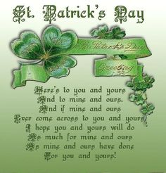 33 best card sentiments st patricks day images on pinterest blessing m4hsunfo