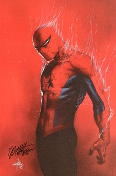 Spider-Man by Gabriele Dell'Otto © Geeky Marvel comics art Marvel Comics, Heros Comics, Hq Marvel, Bd Comics, Marvel Heroes, Comic Book Characters, Comic Book Heroes, Marvel Characters, Comic Character