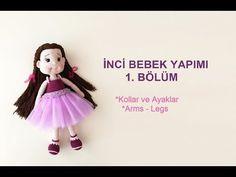 İnci Bebek- Part 1 (Amigurumi Bebek Yapımı - Amigurumi Dolls) - YouTube