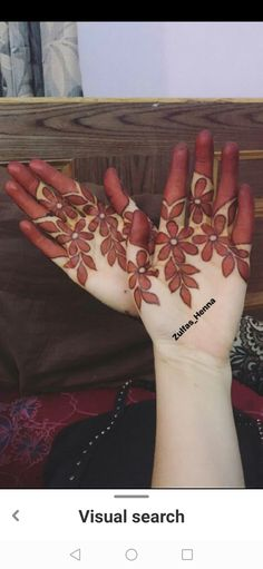 Arabic Mehndi designs for Hands - Check out 20 best Arabic Mehndi designs for brides. Try these Mehndi designs for the wedding functions and you will love it. Latest Finger Mehndi Designs, Henna Tattoo Designs Simple, Mehndi Designs Book, Mehndi Design Pictures, Mehndi Designs For Beginners, Mehndi Designs For Girls, Unique Mehndi Designs, Mehndi Designs For Fingers, Dulhan Mehndi Designs