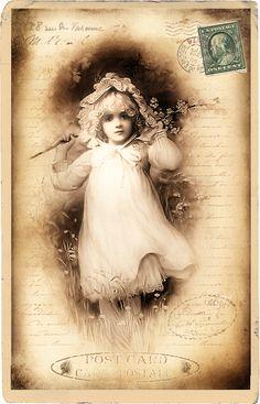Free digital vintage stuff: Postcards