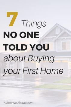 7 Things no one told you about Buying your First Home - Buying Home - What to be awared before buying home? Check this out - Thinking of buying your first home? You may be surprised by these 7 things no one told you Buying First Home, Home Buying Tips, Home Buying Process, First Time Home Buyers, Tips Instagram, Tips Fitness, Mortgage Tips, Mortgage Humor, Mortgage Calculator