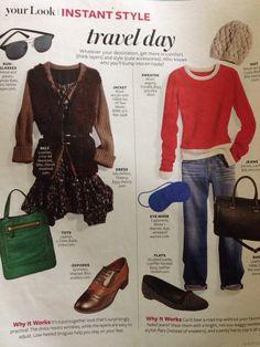 People Style Watch, Instyle Magazine, Outfit Ideas, Chiffon, Stylists, Scrapbook, Denim, My Style, Cute
