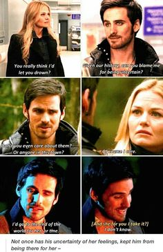And then Emma travelled to the Underworld to bring Killian back Colin O'Donoghue - Captain Hook - Killian Jones - Jennifer Morrison - Emma Swan - Once Upon A Time Best Tv Shows, Best Shows Ever, Favorite Tv Shows, Movies And Tv Shows, Captain Swan, Captain Hook, Once Upon A Time, Bellarke, Delena