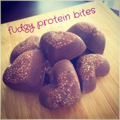 Fudgy Protein Bites >> I Quit Sugar ~ This recipe is fructose free! #IQS #iqsrecipe #fructosefree #sugarfree #iqstreats