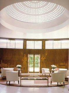 Eltham Palace in Greenwich, London. For a hit of Art Deco and an escape from the bustle of the city, we highly recommend a visit. Article via The Modern House.