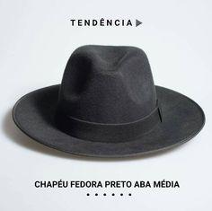 Chapéu Fedora Aba Média  Tendência 2016  Código 44S6SA3FH  R$99 Frete Grátis Brasil * Crie seu estilo e #saiadocomum  www.chapeueestilo.com.br/fedora