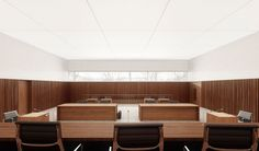 lilin architekten sia gmbh - Projektwettbewerb Bezirksgericht, 2. Preis Conference Room, Divider, Table, Furniture, Home Decor, District Court, Architects, Easy Meals, Projects