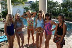 Everything revolves around the pool