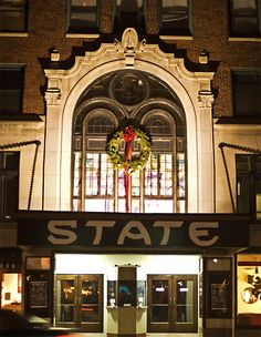 The State Theater ~ Portland, Maine Winter Road, Portland Maine, Old Buildings, Daily Photo, Beautiful Buildings, New Hampshire, Rhode Island, Vermont, West Coast