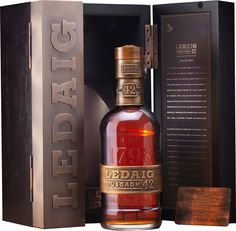 Finished in Golzales Byass Oloroso sherry casks on the Isle of Mull, this whisky is the oldest Ledaig ever released.